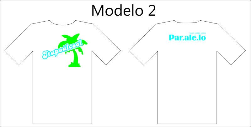 Camisetas Paralelo. Mod2