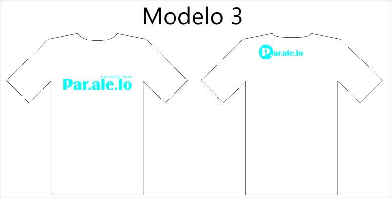 Camisetas Paralelo. Mod3