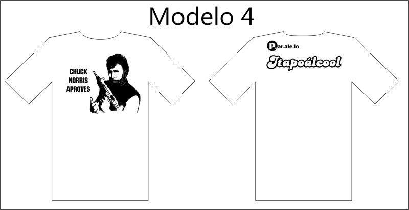 Camisetas Paralelo. Mod4