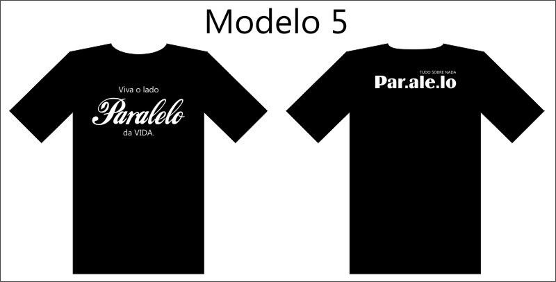 Camisetas Paralelo. Mod5