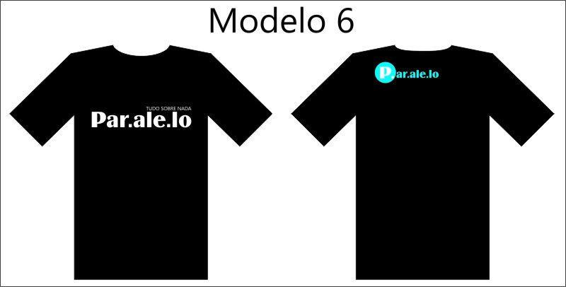 Camisetas Paralelo. Mod6
