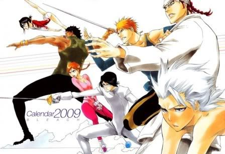 Calendario Anime 2009 - Bleach 013760975