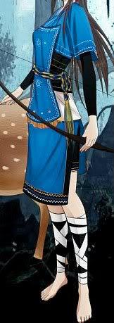 Ficha de Azumi TrajeAzumi