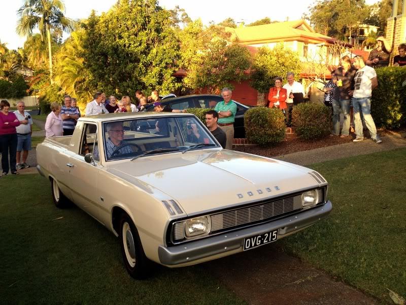 The 'Sloop John B' VG Dodge ute Dad1800x600