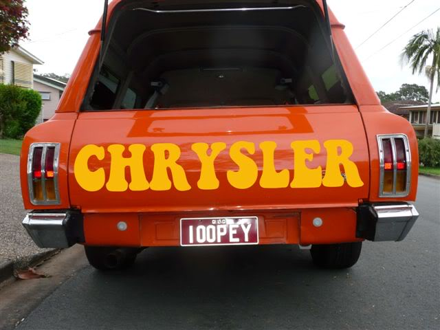 'Mr Juicy' the high-roofed Charger ..err Panelvan! Keepontruckincaps-1