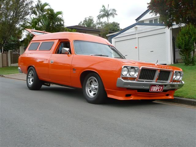 'Mr Juicy' the high-roofed Charger ..err Panelvan! Picture006-12