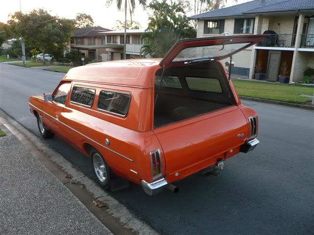 'Mr Juicy' the high-roofed Charger ..err Panelvan! Picture012-5