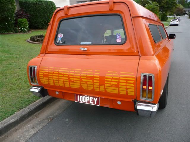 'Mr Juicy' the high-roofed Charger ..err Panelvan! Picture020-4