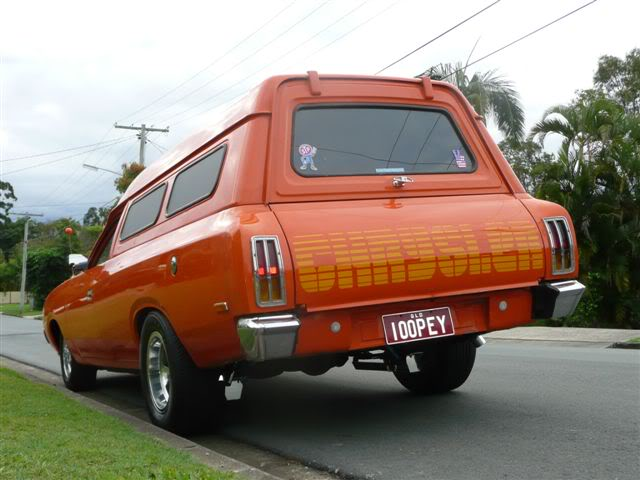 'Mr Juicy' the high-roofed Charger ..err Panelvan! Picture021-8
