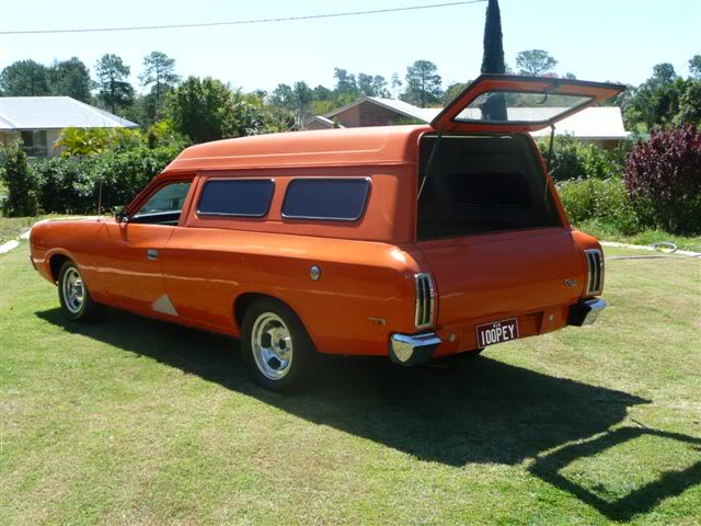 'Mr Juicy' the high-roofed Charger ..err Panelvan! Picture026-3