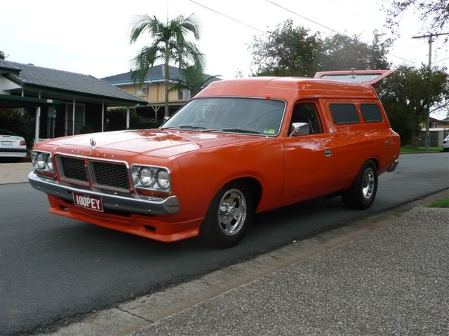 'Mr Juicy' the high-roofed Charger ..err Panelvan! Picture031-7