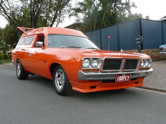 'Mr Juicy' the high-roofed Charger ..err Panelvan! Picture032-5