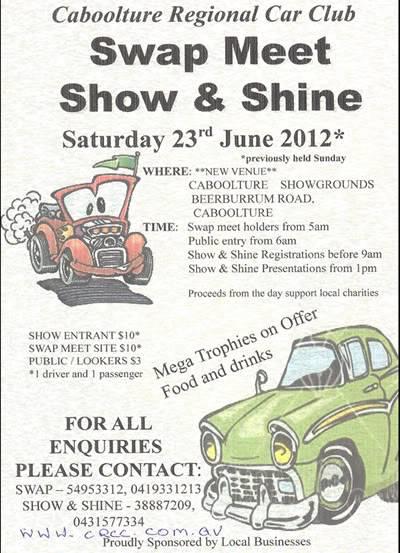 QLD Majestics shindig - Saturday June 23 2012 @ Caboolture Showgrounds Flyer_02