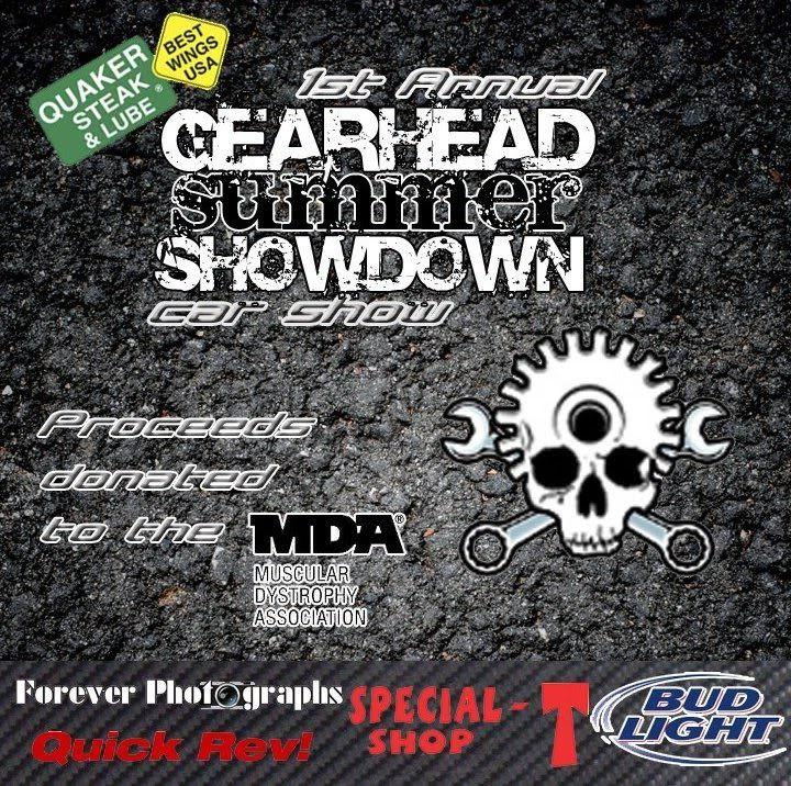 Gearhead Summer Showdown/Dayton, OH  GearheadSummerShowdownFlyer