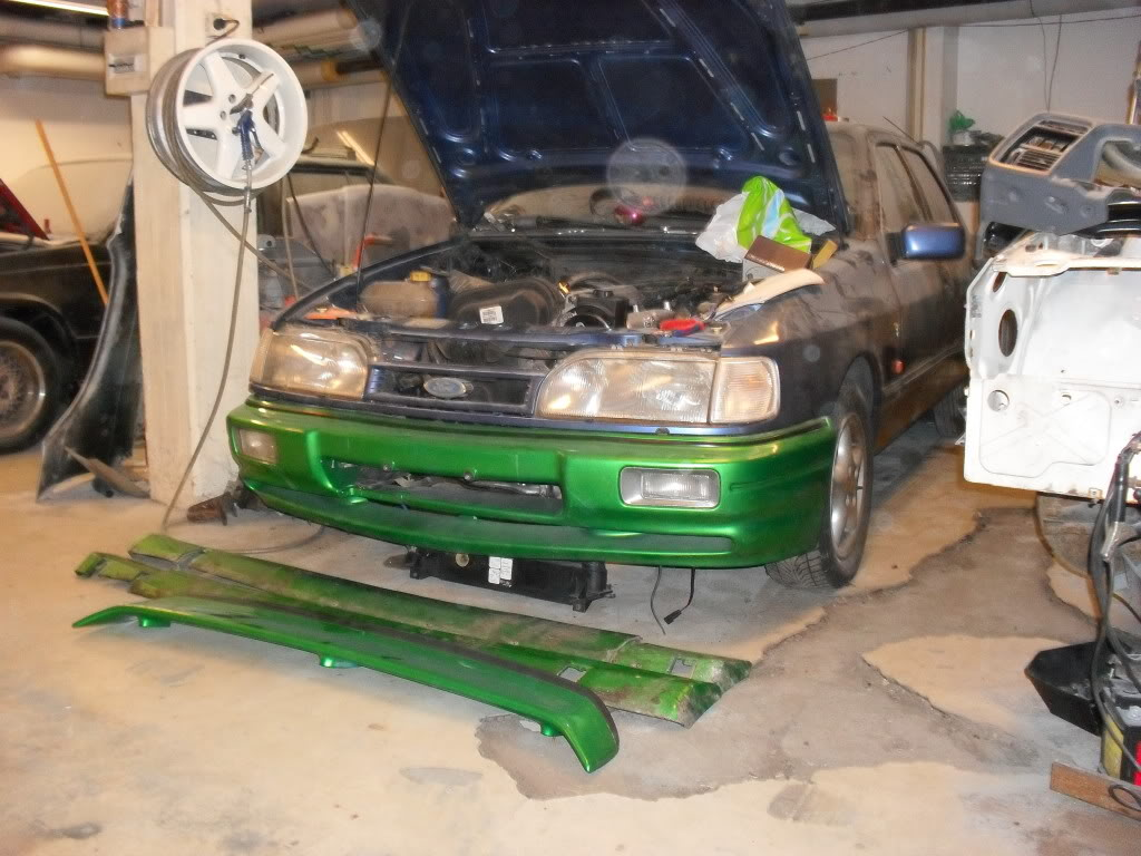 "T5Tim - Sierra ""Cosworth"" M50 Turbo.  SDC10734"