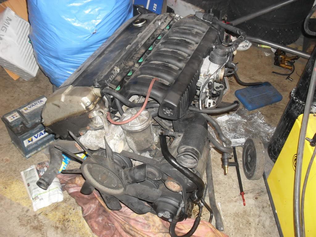 "T5Tim - Sierra ""Cosworth"" M50 Turbo.  SDC11010"