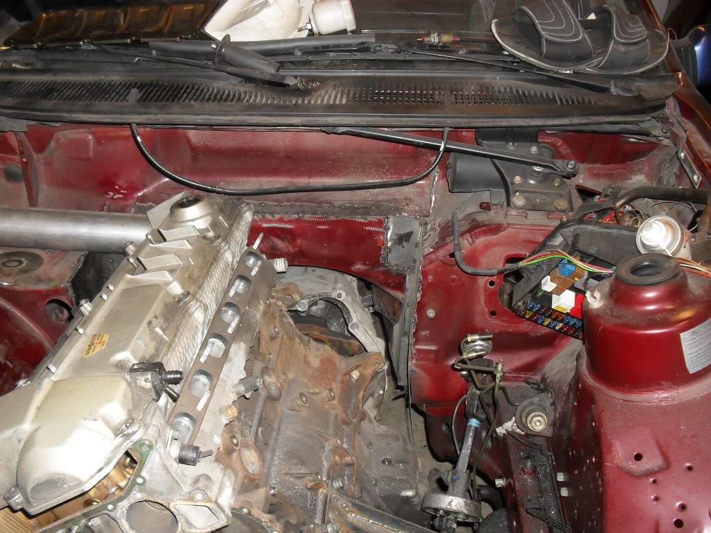 "T5Tim - Sierra ""Cosworth"" M50 Turbo.  SDC11038"