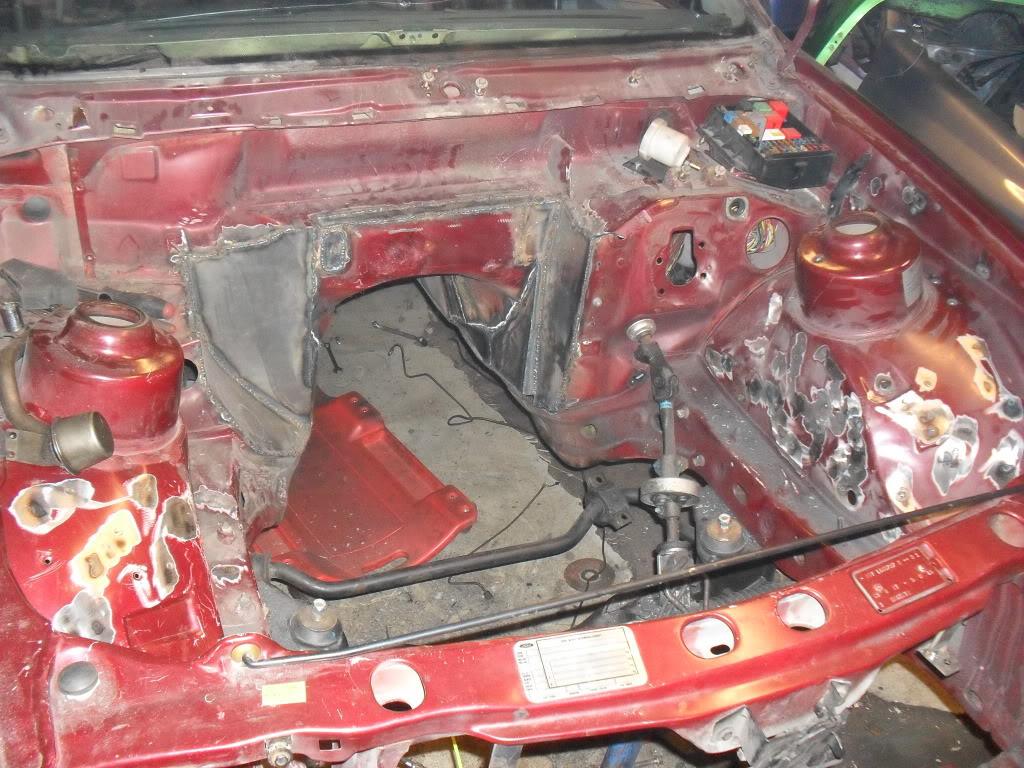 "T5Tim - Sierra ""Cosworth"" M50 Turbo.  SDC11052"