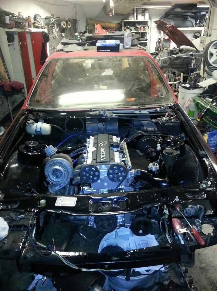 """Sierra T5 """"flygel"""" - Sida 2 Motor"""