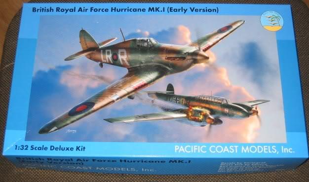 "Hawker Hurricane Mk.I ""Rag-Wing"" 1/32, PCM 013"