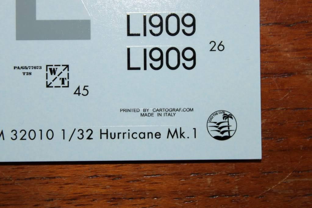 """Hawker Hurricane Mk.I """"Rag-Wing"""" 1/32, PCM IMG_0289"""