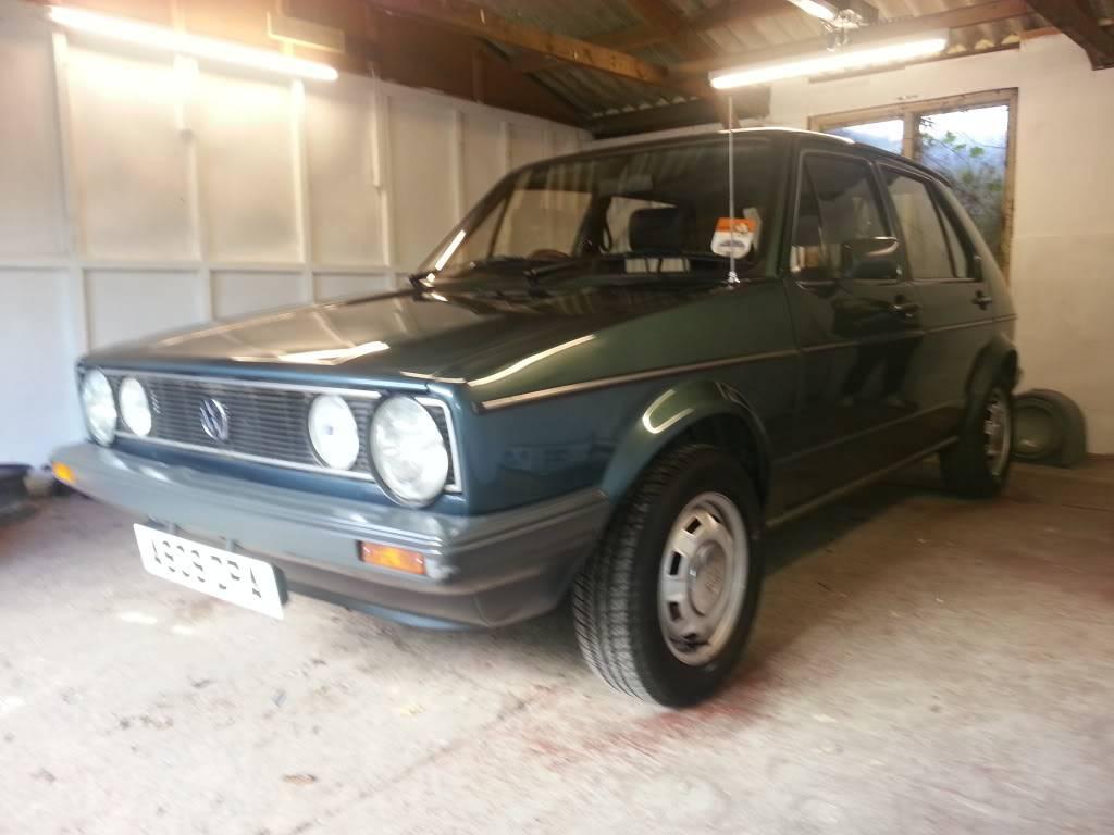 Mk1 Golf GX 20121013_161929