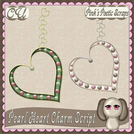 Free PS Scrip Found By: PinkPoeticScraps --- Pearl Heart Charm PPS_PearlCharm_Preview