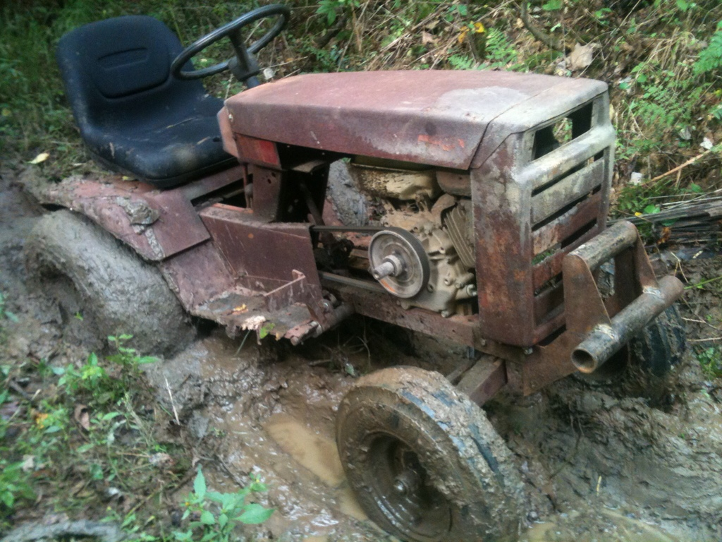 Mtd Mud Mower : Offroad tractor pics and below