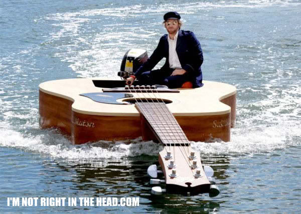 Something different Boatguitar