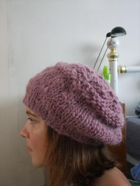 un beret en alpaga pour cet hiver 016-19
