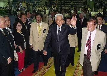 Sultan of Perak on Lionism SultanPerak