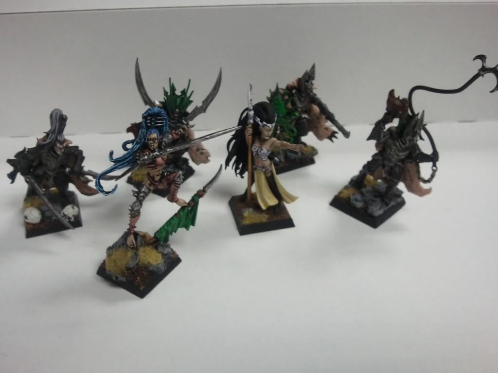 dark - Dark elf warband (wip) 2011-12-14172648