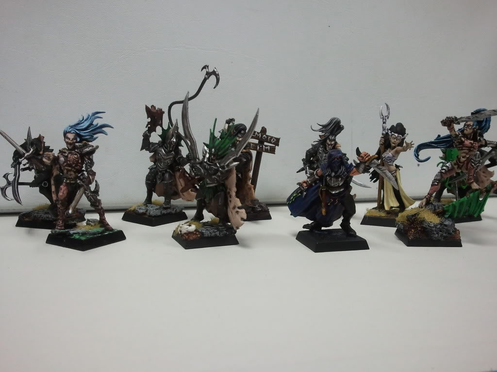 dark - Dark elf warband (wip) 2012-03-14162740
