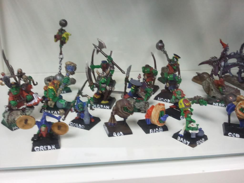 Dark elf warband (wip) Goblinwarband