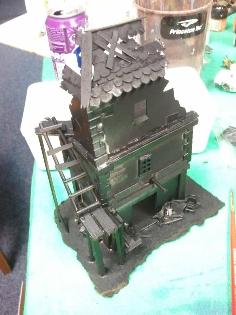 Dark elf warband (wip) Ruinedbuilding