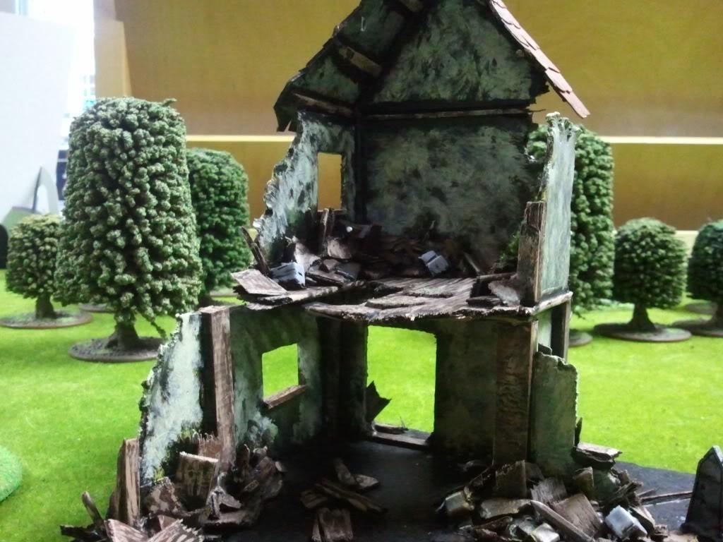 Dark elf warband (wip) Ruinedbuilding2paint