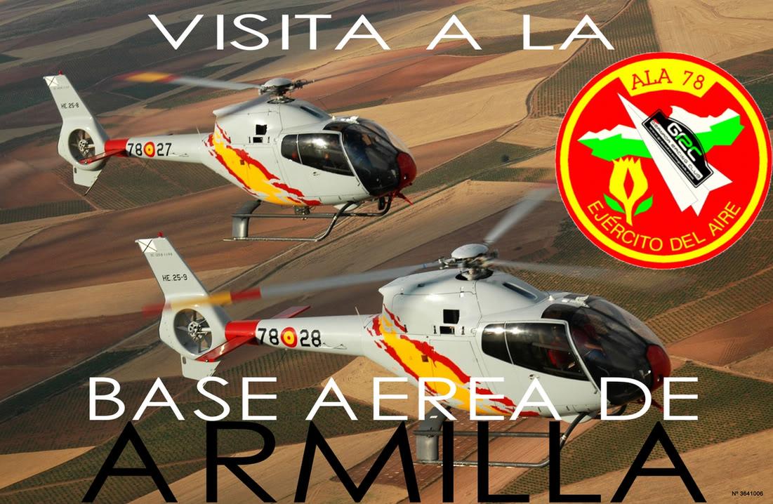 Visita GRC a Base Aerea de Armilla: 5 de Marzo. VISITABASE
