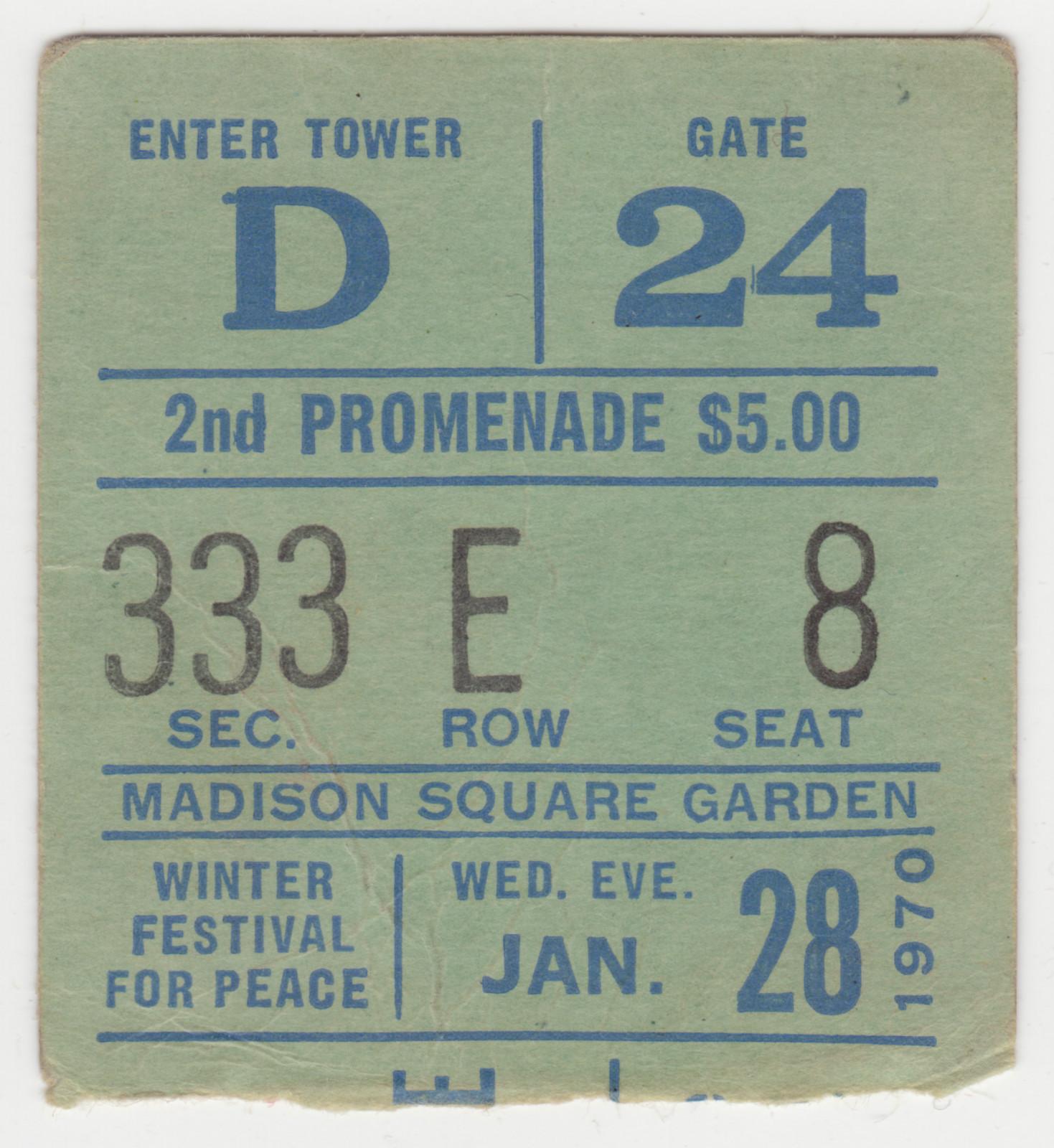 New York (Madison Square Garden) : 28 janvier 1970  068c1280cf9f72768a381163be3eddc6