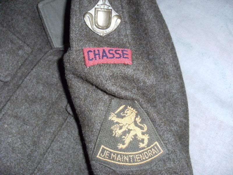 Battledress Blouse CHASSE Nulli Cedo. DSCF0004_zpsb0d32c39