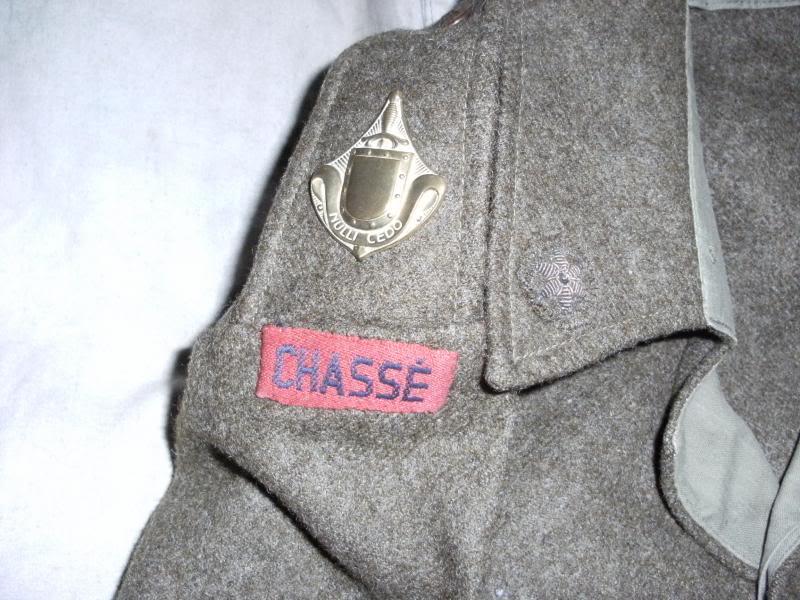 Battledress Blouse CHASSE Nulli Cedo. DSCF0005_zpsf26305c5