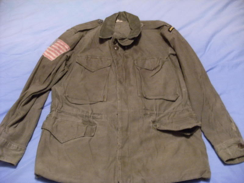 Original US WW2 M43 Jacket Used In Band Of Brothers+The Longest Day??? D7aedddf