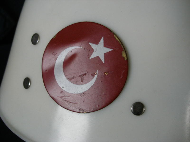 Turkish M1 type Plastic Helmet-Parade Maybe Dc1666ef