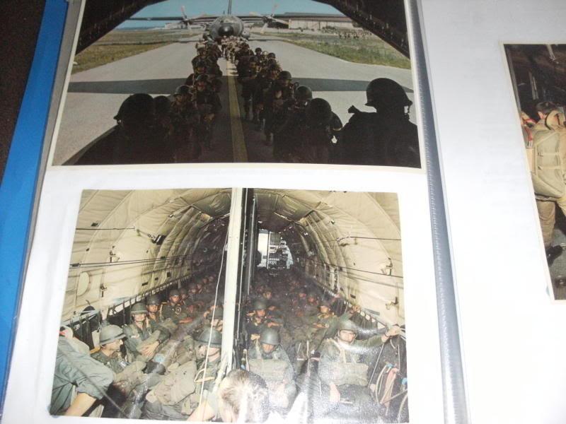 9 Regiment de Chasseurs Parachutistes Photo type album. Ea571918