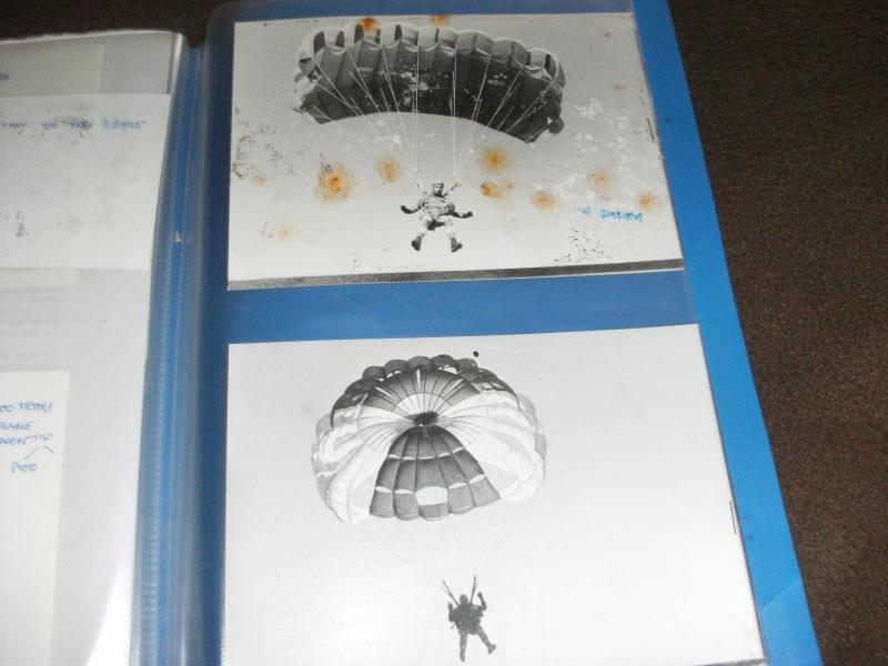 9 Regiment de Chasseurs Parachutistes Photo type album. Eba66844