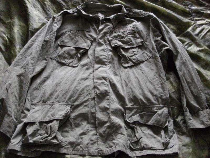 Nice Badged 2nd Pattern Jungle Jacket in a rare? size XL. DSCF0001_zpse7f3e571