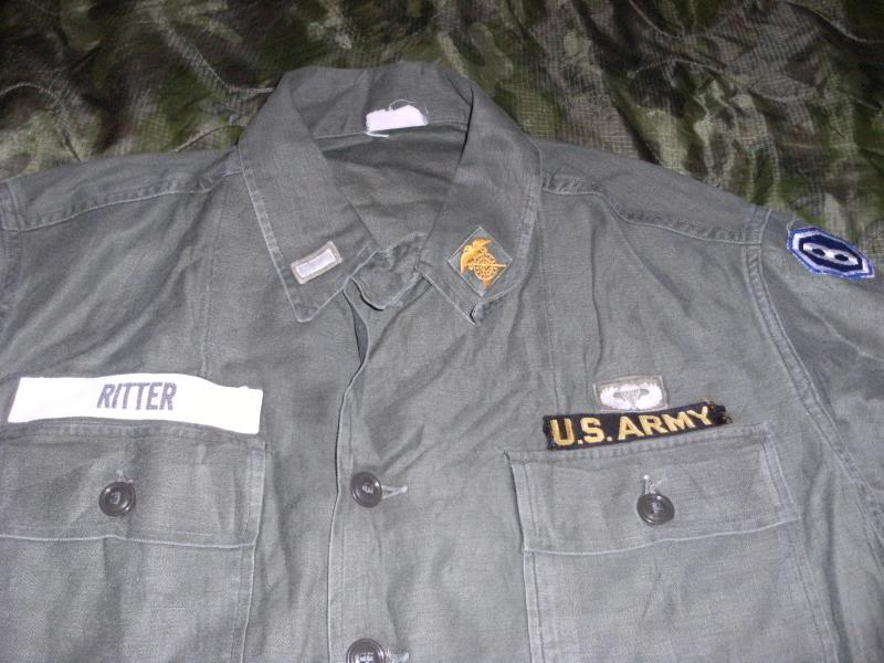 1960 Nicely Badged Utility Shirt. DSCF0002_zps7d2db273