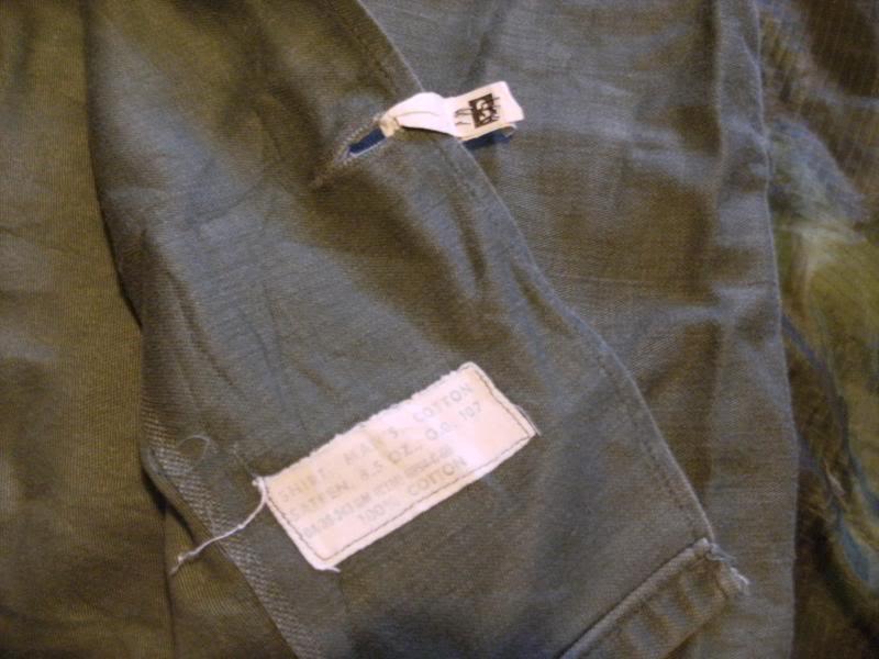 1960 Nicely Badged Utility Shirt. DSCF0006_zps9b127d69