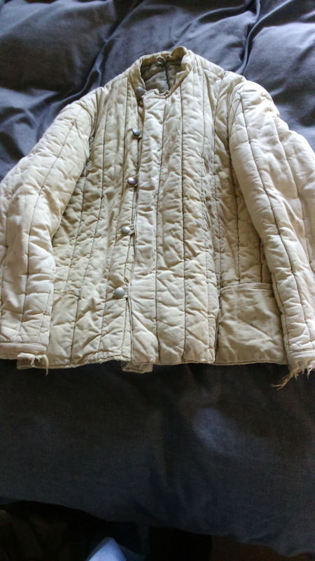 Telogreika padded winter jacket used maybe by a German soldier or POW? Telogreika%20padded%20winter%20jacket%20used%20maybe%20by%20a%20German%20sold%20004_zpsnzeudhq1