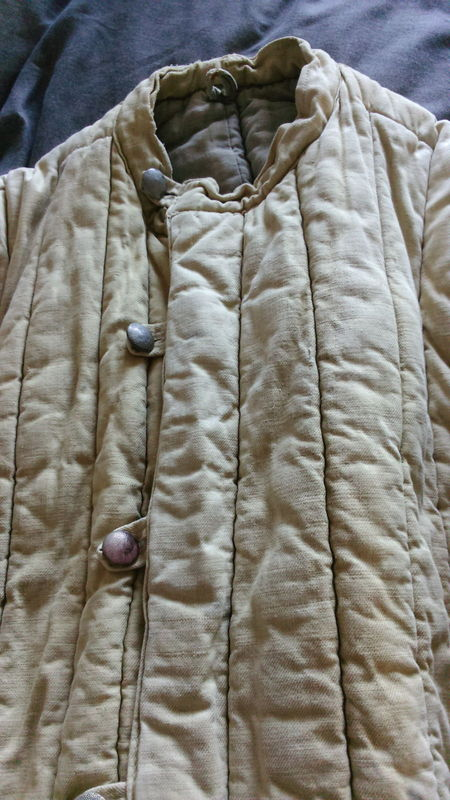 Telogreika padded winter jacket used maybe by a German soldier or POW? Telogreika%20padded%20winter%20jacket%20used%20maybe%20by%20a%20German%20sold%20005_zps8pott9ea