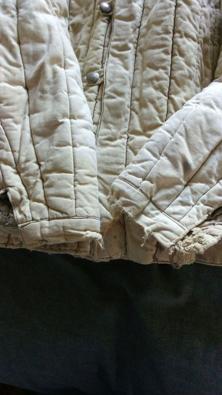 Telogreika padded winter jacket used maybe by a German soldier or POW? Telogreika%20padded%20winter%20jacket%20used%20maybe%20by%20a%20German%20sold%20006_zpsqyqkuapj